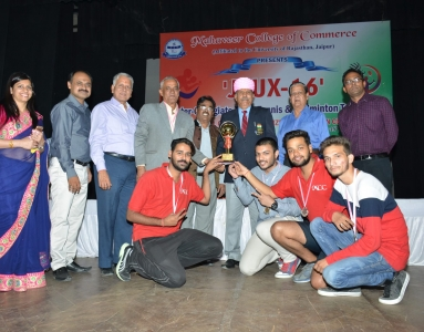 JUEX 5th inter-collegiate Table Tennis & Badminton Tournament